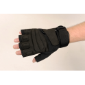 T23 Lightweight Half Finger Gloves Black